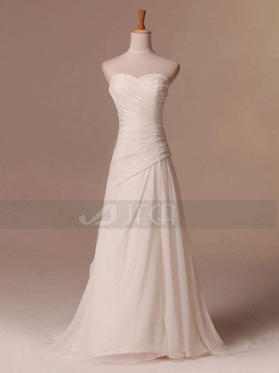 Ordinaire Simple Beach Wedding Dress Summer Wedding Dress Outdoor Wedding Dress